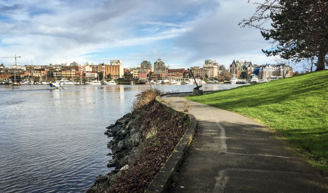 Walking Victoria's Inner Harbour – British Columbia