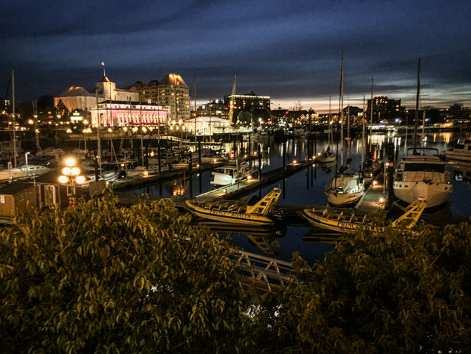 Downtown Victoria at Night-10
