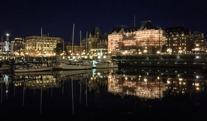 Downtown Victoria at Night-12