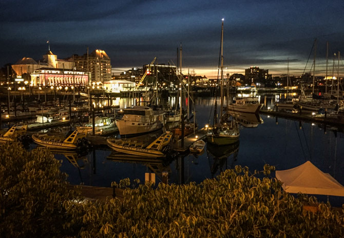 Downtown Victoria at Night-7