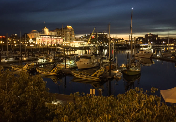 Downtown Victoria at Night-9