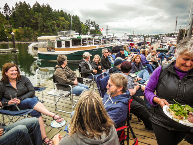 Poets Cove – Ranger Tugs/Cutwater Cruise