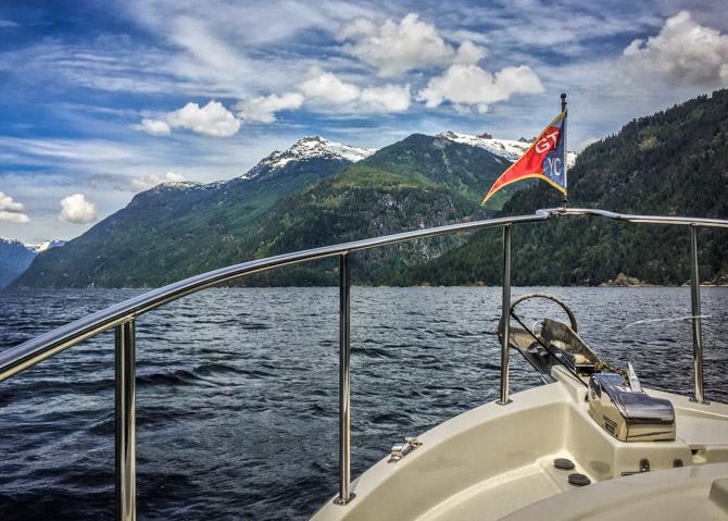 Jervis Inlet Fjord