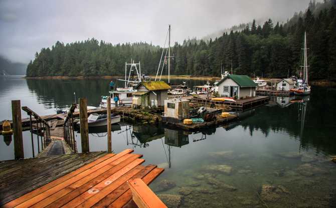 A Warm Welcome Awaits – Kwatsi Bay Marina – Broughton Islands, BC