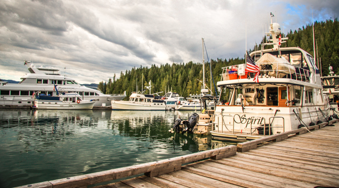 Sullivan Bay Marina, A Floating Community – Broughton Islands, BC