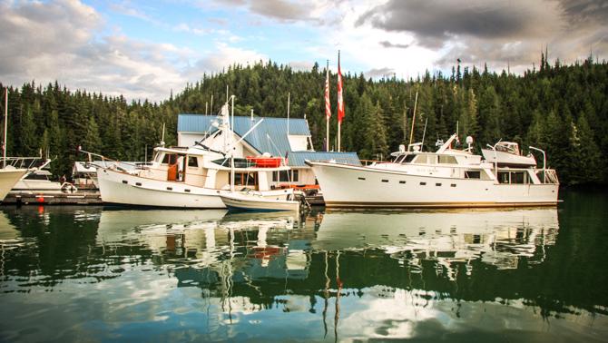 Sullivan Bay Marina