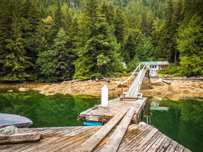 Can't Get Enough Of These Floating Marinas – Return Visit Kwatsi Bay Marina, Broughton Islands, BC Canada