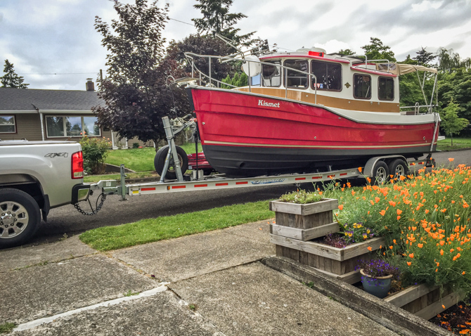 Boaterhoming in Portland