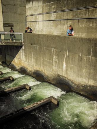 Boaterhoming Cascade Locks