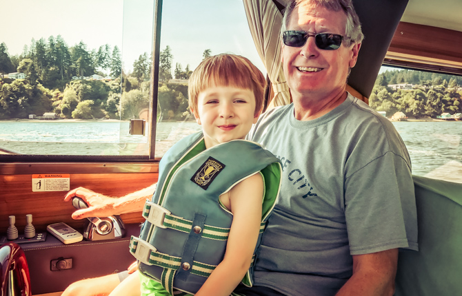 Silas First Boating Adventure – Gig Harbor