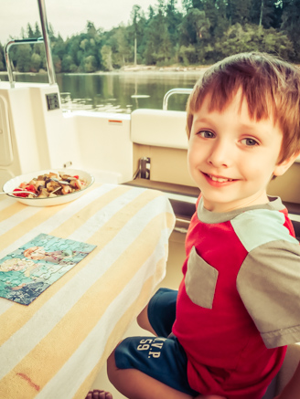 Silas' First Boating Adventure