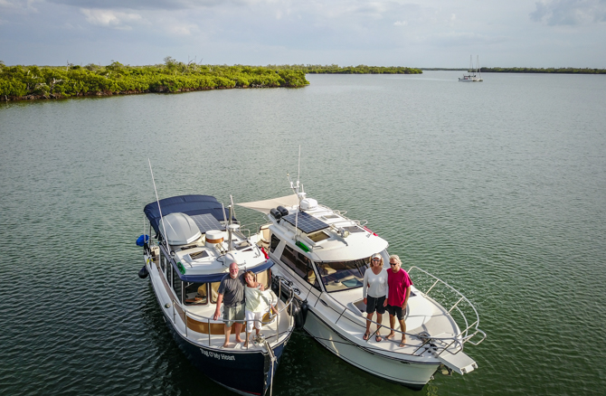 Post Rendezvous Flotilla To Cayo Costa State Park